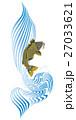 鯉の滝登り 27033621