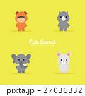 動物 ベクタ ベクターのイラスト 27036332