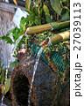 つくばい 水 水流の写真 27039113