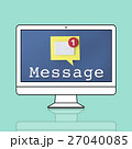 パソコン Eメール emailのイラスト 27040085