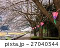 桜とランタン 27040344