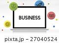 ビジネス 職業 プランニングのイラスト 27040524