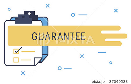 Quality Assurance Guarantee Warranty Trustworthy Conceptのイラスト素材 [27040528] - PIXTA