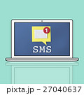 パソコン Eメール emailのイラスト 27040637