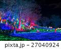 東京ドイツ村 イルミネーション ライトアップの写真 27040924