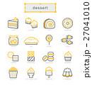 デザート アイコン イコンのイラスト 27041010