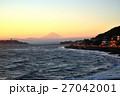 富士山 夕焼け 風景の写真 27042001
