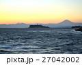 富士山 富士 夕焼けの写真 27042002
