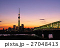 東京スカイツリー シャンパンツリー ライトアップの写真 27048413