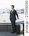 空港 出張 ビジネスマンの写真 27049330
