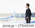 空港 出張 ビジネスマンの写真 27049340