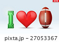 アメリカンフットボール サッカー フットボールのイラスト 27053367
