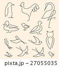 シンボルマーク ロゴ 鳥のイラスト 27055035