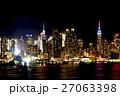 ニュージャージーからのマンハッタン 27063398