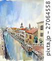 ミラノ 運河 27064558