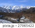 風景 白馬 雪山の写真 27065422