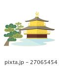 金閣寺のイラスト 27065454