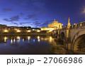 Rome Castel Sant Angelo twilight 27066986