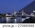 London Tower Bridge twilight transition 27066988