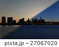 Philadelphia Skyline sunrise twilight 27067020