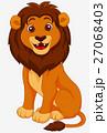 動物 ライオン ねこのイラスト 27068403