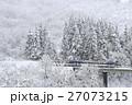 冬の只見線 27073215