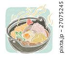 料理 割烹 お料理のイラスト 27075245