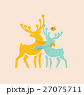 two colored deer 27075711