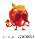 ピーマン キャラクター 文字のイラスト 27076554