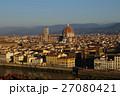 フィレンツェ サンタ・マリア・デル・フィオーレ大聖堂 街並みの写真 27080421