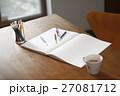 スケッチブックとペン 27081712