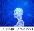 AIのブレインと人工知能のディープラーニング 27081954