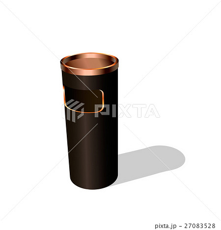 Trash can. Isolated on white background.のイラスト素材 [27083528] - PIXTA