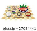 朝食 昼食 夕食のイラスト 27084441