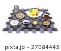 朝食 昼食 夕食のイラスト 27084443