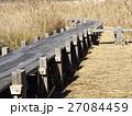 谷津干潟公園の観察用木道 27084459