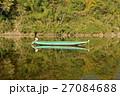 仁淀川に浮かぶ小舟 27084688