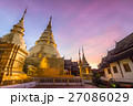 Wat Phra Singh temple at sunrise. Thailand 27086029