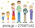 家族 花粉症 花粉のイラスト 27087142