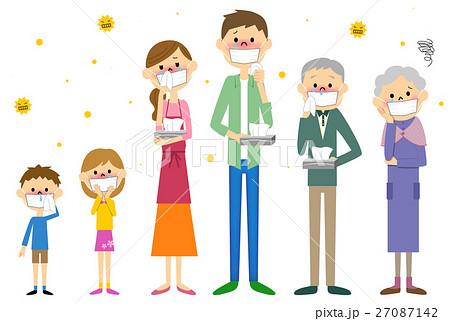 花粉症の家族 27087142