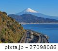 富士山 薩埵峠 東名高速道路の写真 27098086