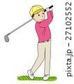 ゴルフのスイング-2 27102552