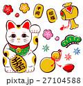 招き猫 27104588