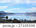 テカポ湖 湖畔 風景の写真 27105506