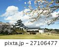 白河小峰城 桜 満開の写真 27106477