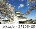 白河小峰城 桜 満開の写真 27106485