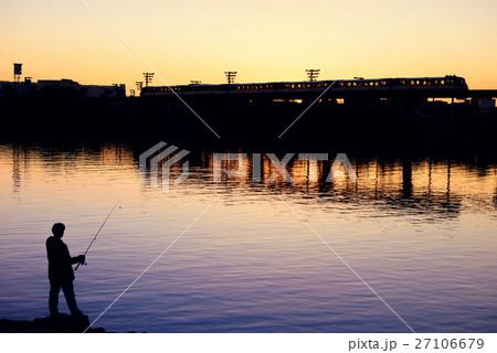 東京モノレールと釣り師 27106679