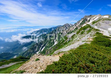 長野 北アルプス 後立山連峰の写...