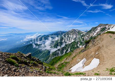 長野 北アルプス 白馬連山 27109368