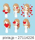 かわいい キュート 可愛いのイラスト 27114226